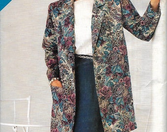 Butterick See & Sew 5534 Misses Below Hip Jacket And Straight Skirt Pattern, 8-10-12, UNCUT