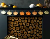 Pumpkin Garland - Halloween Garland - Autumn Decor Ideas - Halloween Wall Decor - Halloween Party 2017 - Autumn Garland - Party Supplies UK