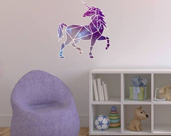 Unicorn art etsy for Chambre unicorn
