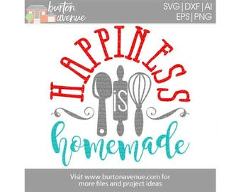 Kitchen SVG files, Kitchen SVG, Happiness SVG file, happiness quote, happiness sign