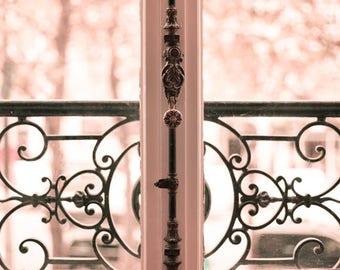 Wall art canvas art, Paris wall art, Paris photography, blush pink decor, Paris prints, Paris photos, framed wall art, gifts for women