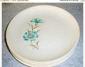 ON SALE Vintage Taylor Smith & Taylor Boutonniere 1962 Bread and Butter or Dessert Plate Made in the USA Every Yours China Plate