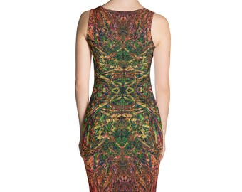 Tiki Sublimation Cut & Sew Dress