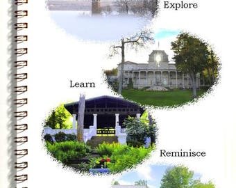 Chautauqua Institution Vacation Journal with 4 postcards - travel pack - photography - description pages - map -