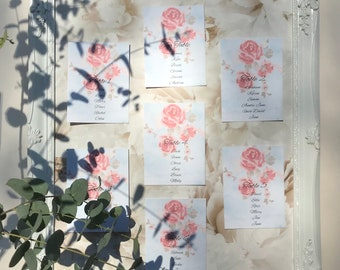 Wedding Table Seating Plan