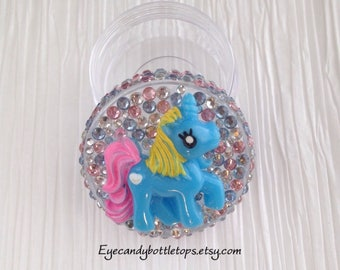 Blue Pony Mini Container