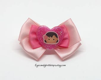 Moana Pink Hair Bow