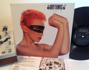 Eurythmics - Touch - Annie Lennox - Synth Pop - New Wave - 1983 - w/ printed Inner Sleeve - Who's That Girl?