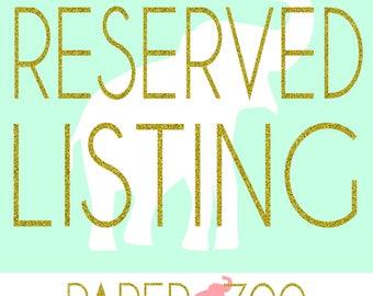 Reserved Listing (Mermaid Banner)