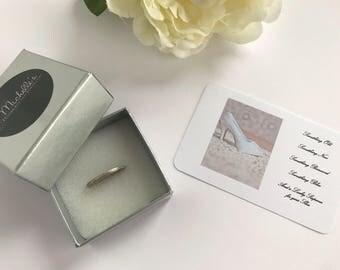 Bridal Sixpence, Lucky Sixpence Bridal Gift,  Silver Sixpence Gift, Sixpence for her Shoe, Bride To Be Gift,  Wedding Day Keepsake