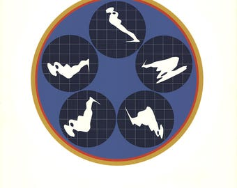 Ernest Trova-Editions At Pace-1969 Serigraph