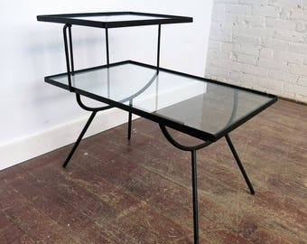 George Nelson For Arbuck Step Side Tables