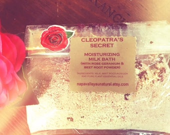 Cleopatra's Secret Moisturizing Milk Bath (1 cup in cellophane sachet)