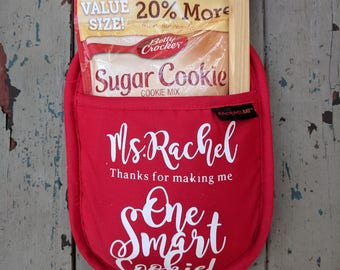 Thank You for Making Me One Smart Cookie - Pot Holder set