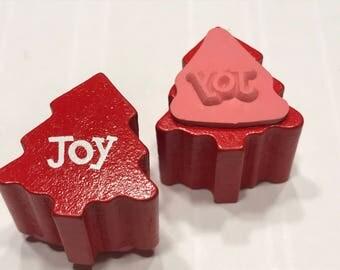 small tiny Joy stamp,12 mm (BB1/3)