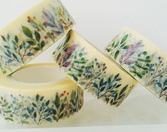 Branches and Berries Washi Tape