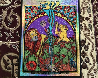 311 Dallas poster CHAMPAGNE VARIANT