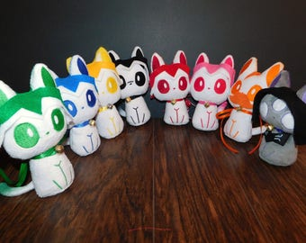 Voltron Character Kittys!