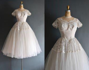 Nadia / 50s wedding dress / bridal gown