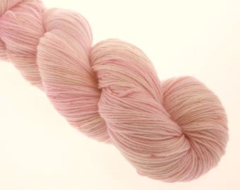 Sock Yarn Hand Dyed Yarn, 4 ply, Yarn, Hand dyed, Superwash Merino, P FOR PINK