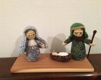 Amigurumi Nativity Scene-Nativity-Nativity Set