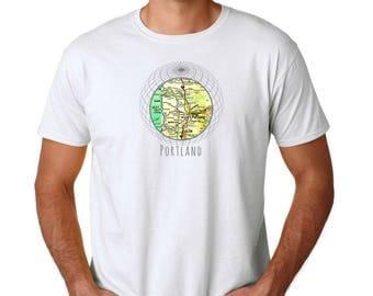 Portland T Shirt, Portland Gifts, Christmas Gifts for Boyfriend Gifts for Girlfriend Gift for Him Unisex T Shirt Gifts, Vintage Portland Tee