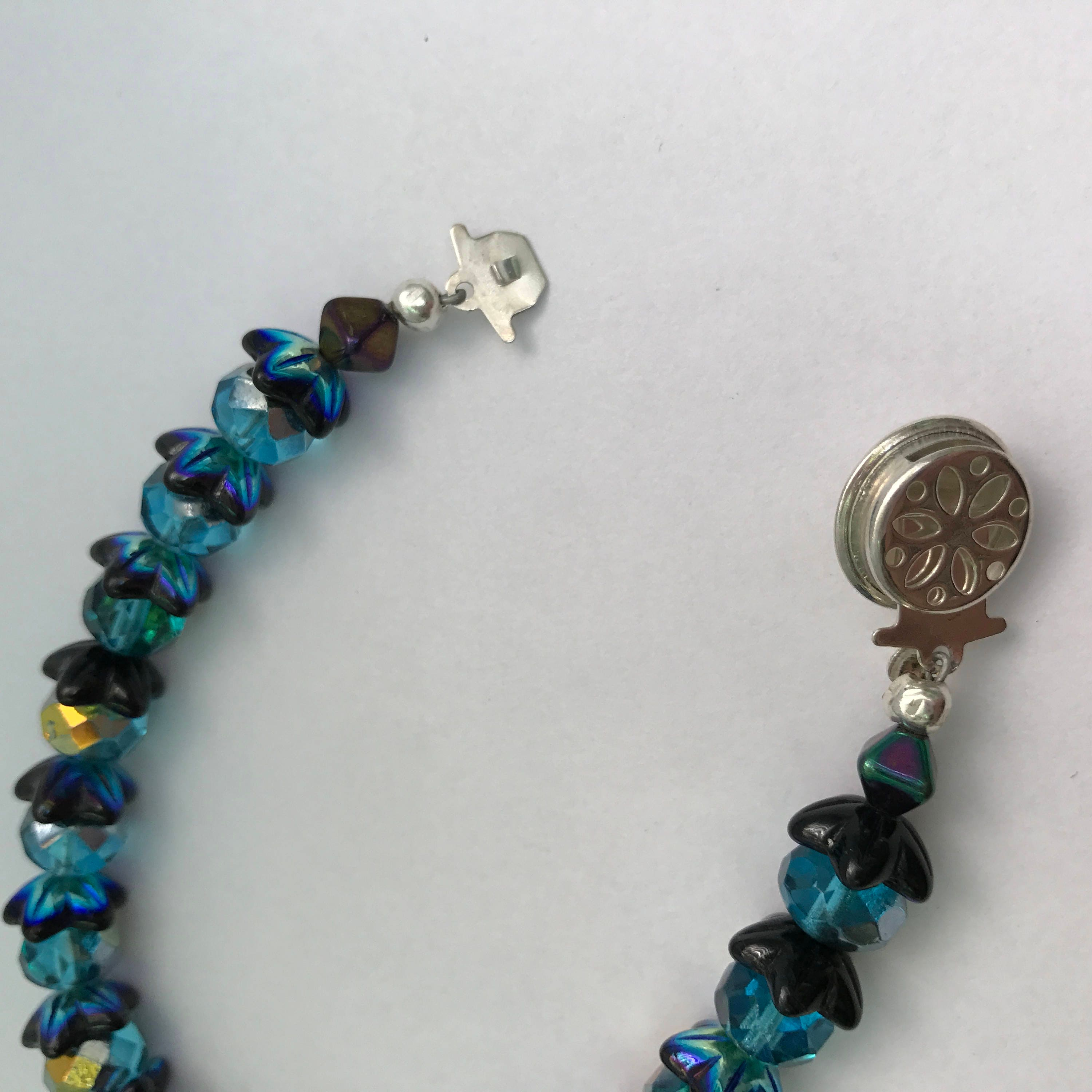 Mermaid bracelets for Mom and Child Matching Jewelry Beaded