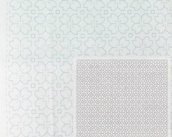Sashiko Kit | Olympus Sashiko Embroidery Pattern, Traditional Japanese Design - Hitomesashi (No 1033)
