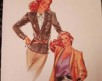 Butterick 6793,  Vintage Jacket Sewing Pattern