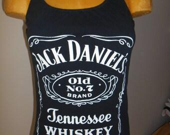 Whiskey halter top Reconstructed DIY Bartender