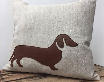 dachshund applique | etsy