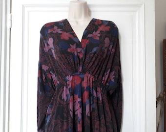 Vintage 70 flowers dress