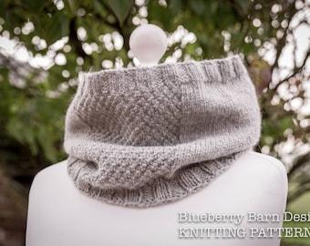 Knitting Pattern/DIY Instructions - Sterndale Neckwarmer/Cowl