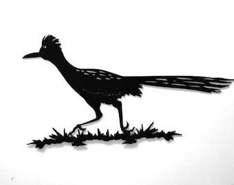 Roadrunner, Metal Sign, Bird, Prairie Bird, Desert Bird, Decor, Metal, Custom