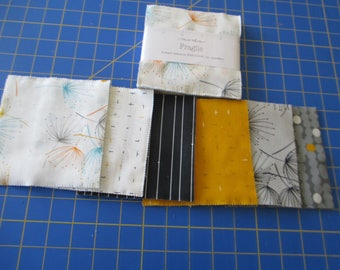 Quilting Weight Cotton Fabric Fragile Charm Pack by Zen Chic for Moda 1 pack