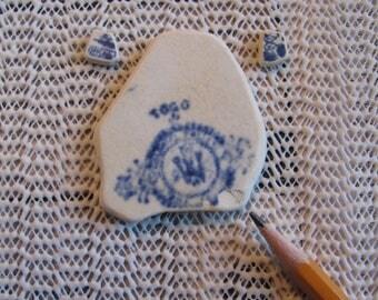 Sea Glass  Beach Glass Ceramic Jewelry mahing
