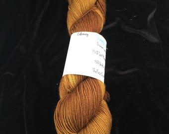 Teddy Bear -  superwash merino/nylon sock yarn