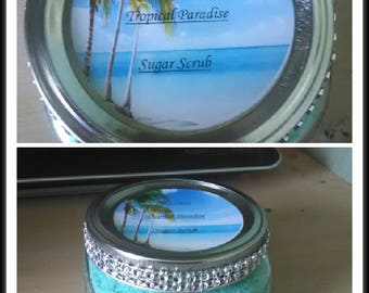 Tropical paradise sugar scrub
