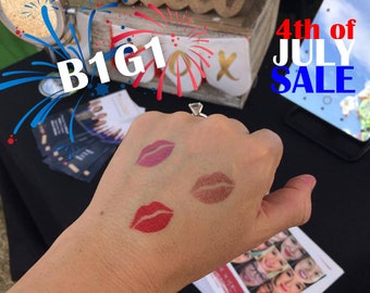 LipSense sticker lips, stencil, swatch tester, lipstick tester. Proven results lip sticker