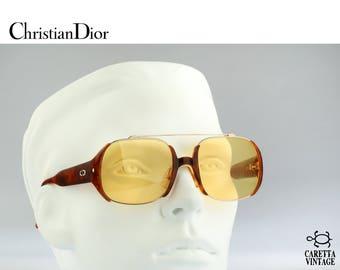 Christian Dior 2563 42, Vintage aviator sunglasses, 80s Unique and rare / NOS