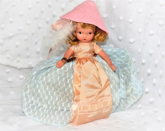 Vintage Nancy Ann Storybook Doll/Lassie Fair 178/ Bisque Collectible Doll/Wee Doll