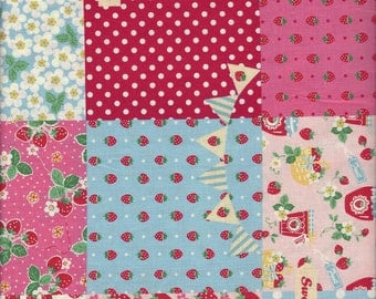 Floral PAtchwork (Col C) from the 30's Collection by Atsuko Matsuyama for Yuwa of Japan