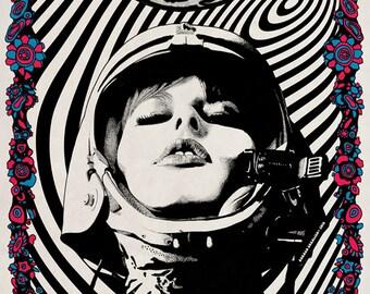 Luna poster by Darren Grealish