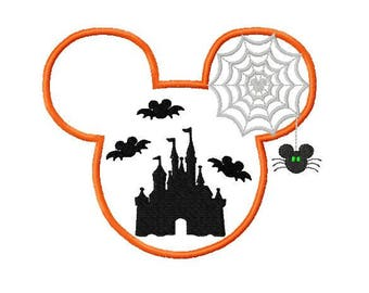 Mouse Inspired Halloween Ears embroidered Disney Inspired Vacation Shirts! 1005a boy