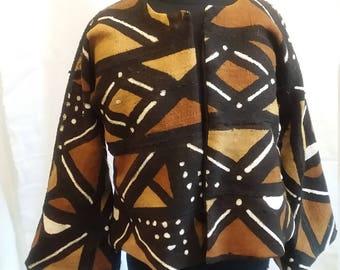 Reversible MudCloth Jacket