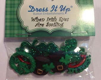 Fathers Day Sale When Irish Eyes are Smiling Buttons
