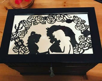 Beauty & The Beast Inspired Jewelry Box
