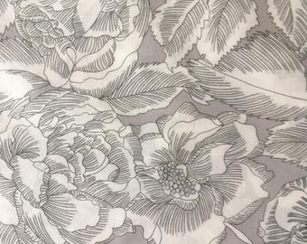August Rose B - Liberty Tana Lawn fabric
