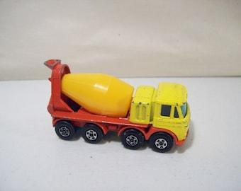 Vintage Matchbox Superfast Foden Die-Cast Concrete Truck No. 21, Lesney England