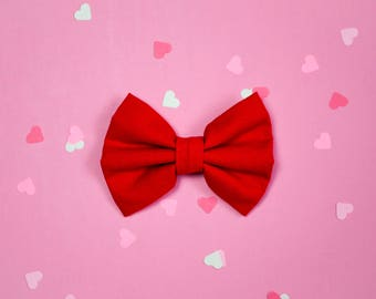 Red Bow / Valentine's Day Bow